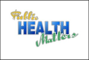 Public Health Matters logo over white