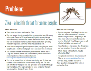 Please click for Zika Fact Sheet